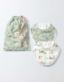 Waterfall Flowerbed Flowerbed 2 Pack Dribble Bibs