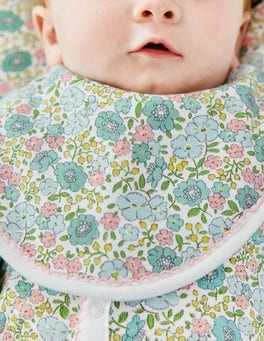 Flowerbed 2 Pack Dribble Bibs