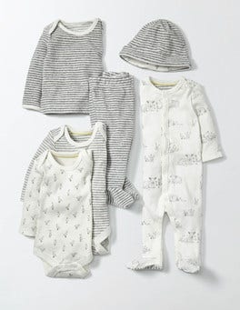 Ivory Lambs New Baby Starter Gift Set