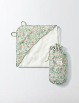 Waterfall Flowerbed Pretty Super Soft Hooded Towel