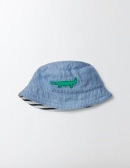 Woven Appliqué Hat