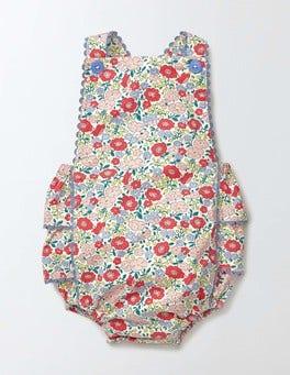Peach Sorbet Mini Flower Bed Nostalgic Summer Playsuit