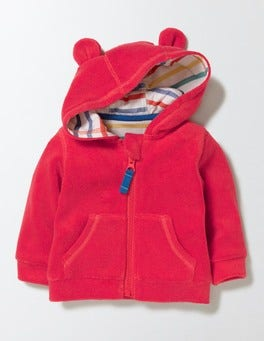 Red Crayon Baby Towelling Hoodie