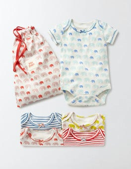 Ivory Baby Elephants Elephants 5 Pack Bodies