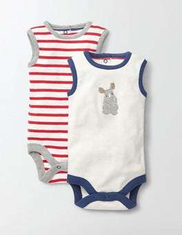 Twin Pack Vests
