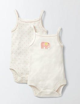 Twin Pack Pretty Vests