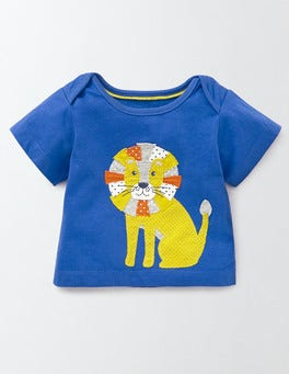 Skipper Blue/Lion Jungle Animal T-shirt