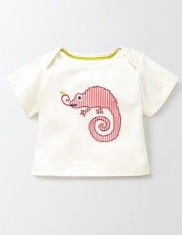 Ivory/Chameleon Jungle Animal T-shirt