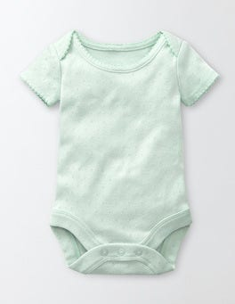 Azure Mist Summer Pointelle Body