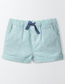 Skipper Blue Stripe Baby Summer Shorts