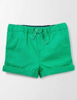 Astro Green Baby Summer Shorts