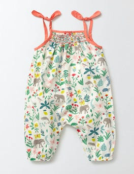 Multi Baby Tropical Garden Summer Days Playsuit