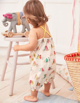 Summer Birds Playsuit