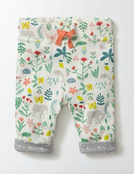 Multi Tropical Garden Supersoft Reversible Trousers