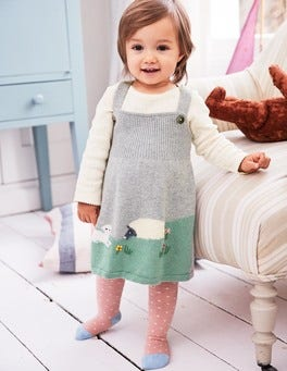 Farmyard Knitted Dress