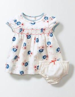 Summer Poppy Blossom Blossom Smock Dress