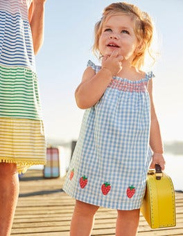 Summer Smocked Dress