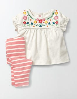 Ivory/Flowers Summer Jersey Play Set
