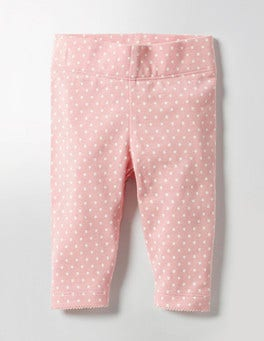 Almond Blossom Pink Pin Spot Baby Leggings