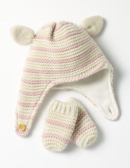 Cosy Hat & Mittens Set
