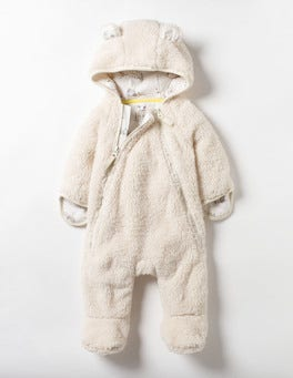 Ivory Cosy Teddy All-in-one