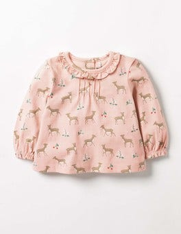 Provence Dusty Pink Baby Fawn Pretty Printed T-shirt