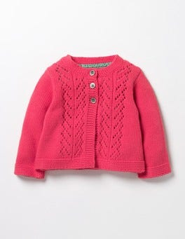Pinkberry Pink Cosy Cardigan