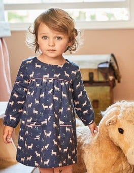 Cosy Jersey Deer Dress