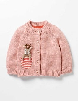 Milkshake Pink Deer Pocket Pet Cardigan