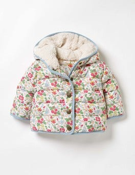 Multi Mini Wild Berry Floral Coat