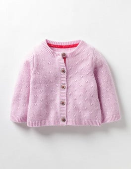 Vintage Pink Baby Cashmere Cardigan