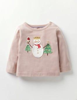 Milkshake Pink Snowman Snowy Friends T-shirt
