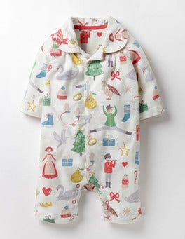 Multi Mini Christmas Magically Festive Romper