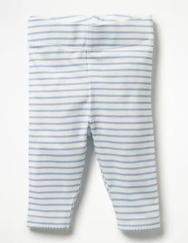 Ecru/Etoile Blue Baby Leggings