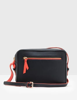 Navy Lyon Crossbody Bag