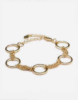Gold Metallic Erin Bracelet