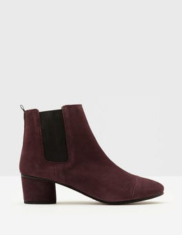 Oxblood Henley Ankle Boots