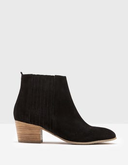 Black Alford Ankle Boots