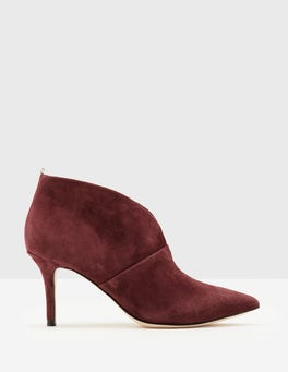 Oxblood Alexa Heeled Boots