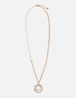 Gold Metallic Thomasina Necklace