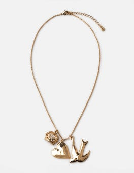 Gold Metallic Harper Necklace