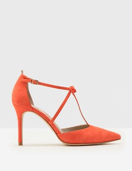 Jennifer T-Bar Heel Pumps