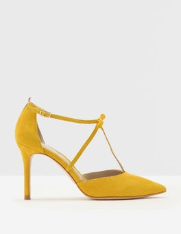 Saffron Jennifer T-Bar Heels