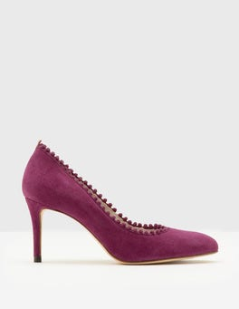 Fallen Fruit Polly Mid Heel Courts