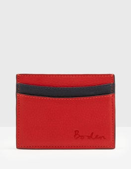 Post Box Red Card Holder