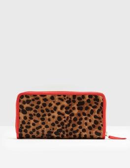 Tan Leopard Paola Purse