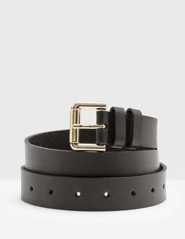 Black Classic Belt