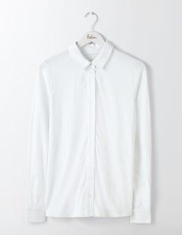 White Jersey Shirt