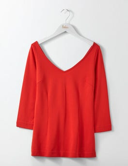 Post Box Red Eva Ponte Top