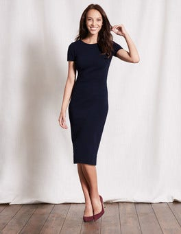 Navy Elsa Ottoman Dress
